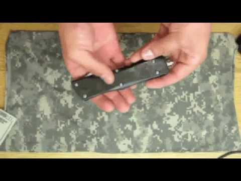Delta Raider OTF - Double Action Out of the Front Switchblade Knife