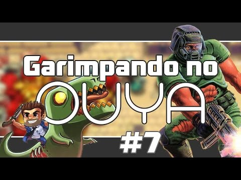 Garimpando no OUYA #7 DoomGLES, Busted, Whispering Willows, Age of Zombies