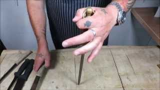 How To Use A Knife Sharpening Steel. TheScottReaProject