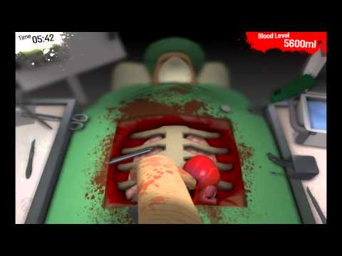 Surgeon Simulator Gameplay and Commentary