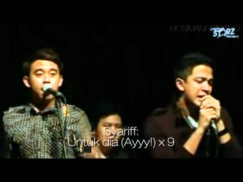 Sleeq Feat. Najwa Latif - Untuk Dia (unofficial Mtv With Lyrics) video