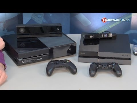 Microsoft XBOX One vs Sony Playstation 4 review - Hardware.Info TV (Dutch)