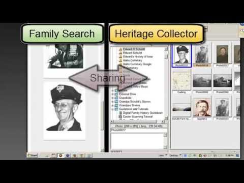 Share Photos With Family Search - Family Tree Using Heritage Collector