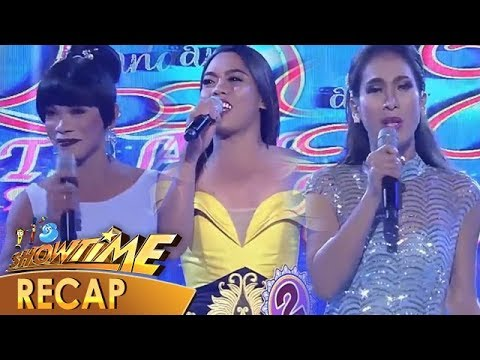 It's Showtime Recap: Contestants in their wittiest and trending intros - Week 2