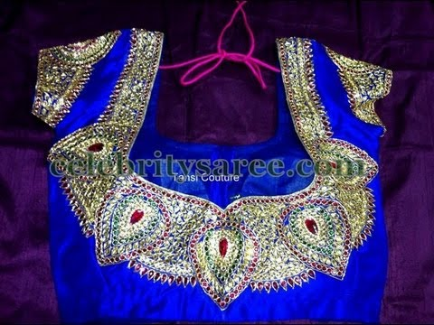 Saree Blouse Embroidery Designs Books Latest Saree Blouse Designs