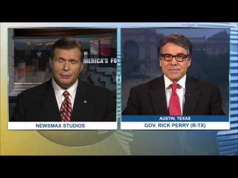 America's Forum | Gov. Rick Perry (R-TX) talks about the need for border security.