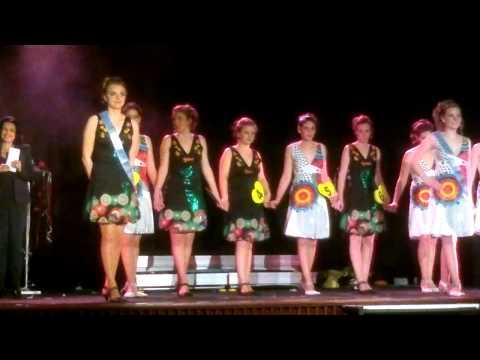 Election et résultat Miss Angevine 2015 à Fougères