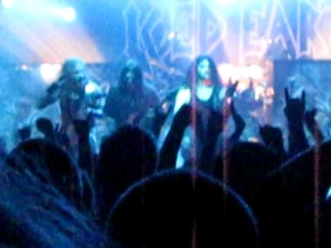 Iced Earth - Declaration Day Live, Nosturi, Helsinki, Finland 01.12.2011