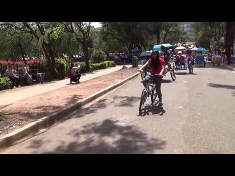 POV Bicycle Ride - Burnham Park - Baguio City, Philippines