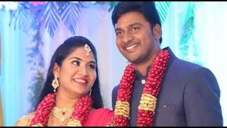 Sathish and Divya Wedding Reception