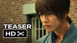 Rurouni Kenshin: Kyoto Inferno / The Legend Ends Teaser Trailer (2014) - Japanese Live Action HD