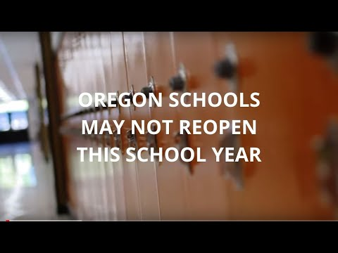 Oregon schools may not reopen this school year, rely solely on distance learning