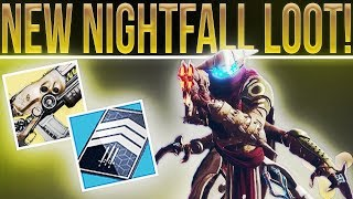 Destiny 2 NIGHTFALL STRIKE THEMED LOOT! (How to get them) Update 1.1.4 Info, Patch Preview and More!