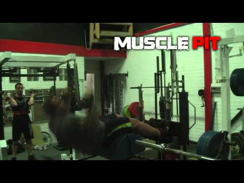 Muscle Pit:- Turkish Sit & Glute/Ham Combo