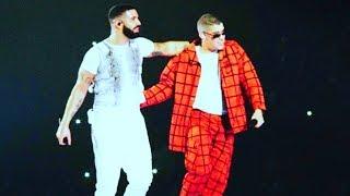 Bad Bunny Ft Drake Mia Miami Live 2018 American Airlines Arena Aubrey The Three Migos Tour