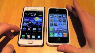 iPhone 4S vs Samsung Galaxy S2 - Videoconfronto