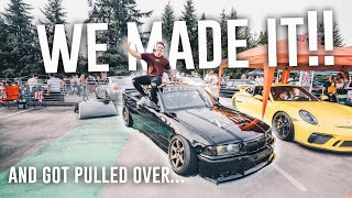 Taking a JAIL INMATES DRIFT CAR To A Car Show | Pt. 2 Stancewars Seattle Show Day