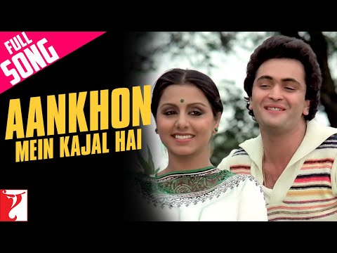 Ankhon Mein Kajal Hai - Full Song HD | Doosara Aadmi | Rishi Kapoor | Neetu Singh