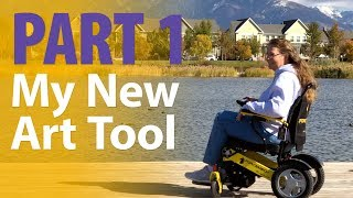 My New Art Tool   Part 1   Forcemech Electric Wheelchair Review