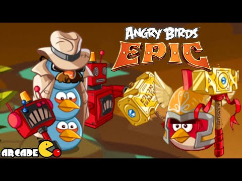 Angry Birds Epic: Saturday Daily Challenge With MAX Level Red Birds