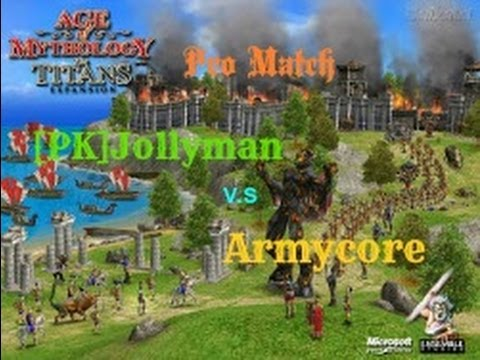 Age Of Mythology The Titans | Game # 29 | PRO 1900+ Players 1 v 1 | commentary |