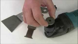How It Works The Makita Multi Tool BTM40Z BTM50Z TM3000