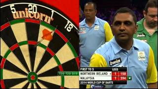 Northern Ireland v Malaysia | Round 1 | Word Cup of Darts 2014