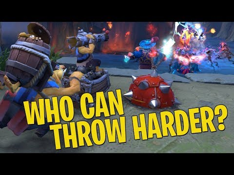 Who Can Throw Harder? - DotA 2 Techies Full Match