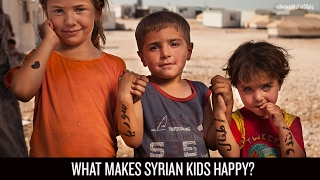 Fifty People, One Question: Dear World with Syrian kids at Zaatari Refugee Camp