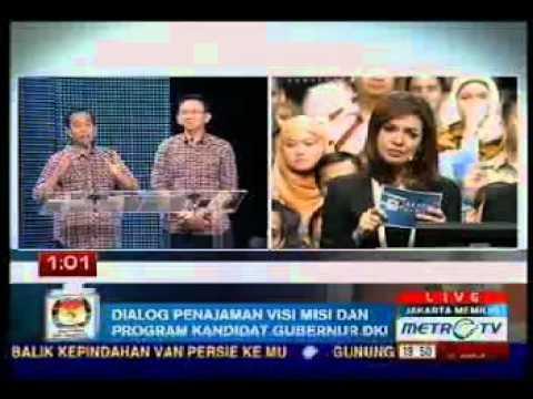 Jokowi Ahok : Debat Cagub DKI Jakarta 2012 - Jakarta Memilih