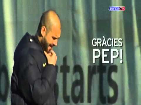 Gracias Pep Guardiola (Thank you)....