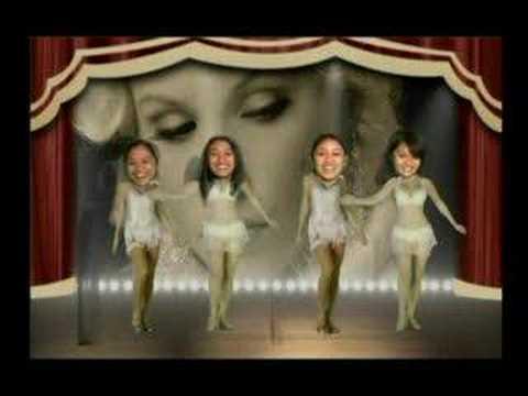 enchanted kingdom dancers(moulin rouge)