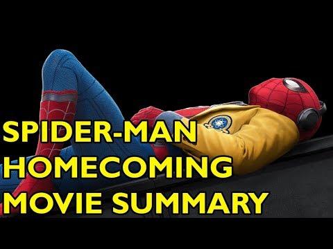 Movie Spoiler Alerts - Spider-Man Homecoming (2017) Video Summary thumbnail