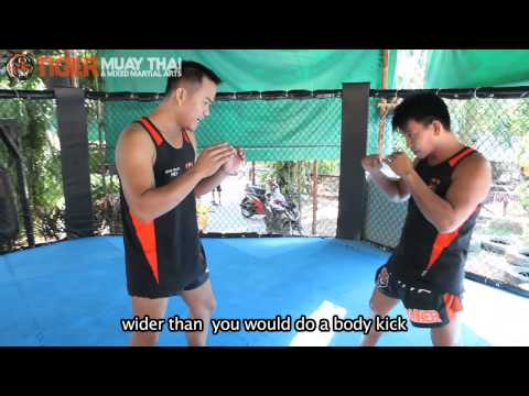 Basic Muay Thai Techniques By Champions: Low Kick Image 1