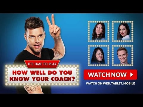 How Well Do You Know Ricky Martin: The Voice Australia Season 2