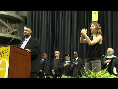 Fayetteville Technical Community College Graduation National Anthem