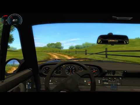 City Car Driving SImulator 1.2.5 RUF Blackbird. rally? haha