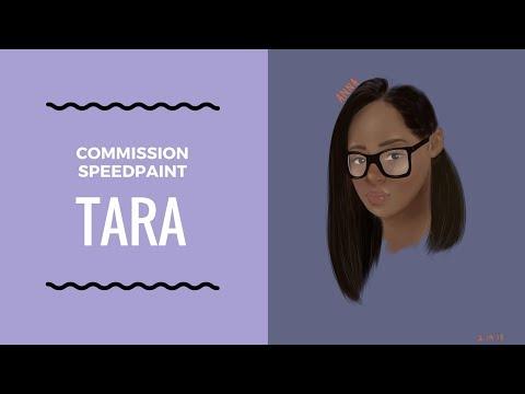 tara | commission speedpaint