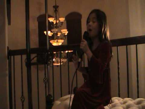 Silent Night, 7 Yr Old Rhema Marvanne - Amazing video