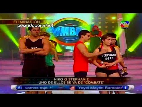 COMBATE: Stephanie Benalcazar es Eliminada del Programa. COMPLETO 09/05/13