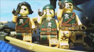 LEGO You Are A Pirate Music Video!