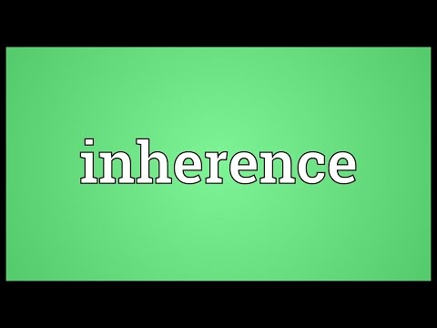 Header of inherence
