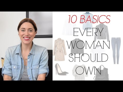 TOP TEN CLASSIC PIECES EVERY WOMAN SHOULD OWN | MyStylePill