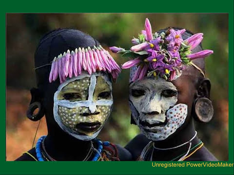 Tribus del rio Omo en Africa