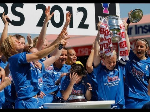 Chelsea vs Birmingham City, FA Women's Cup Final 2012
