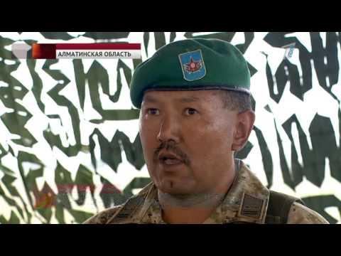 Казахстанские пограничники готовятся к отражению террористических атак