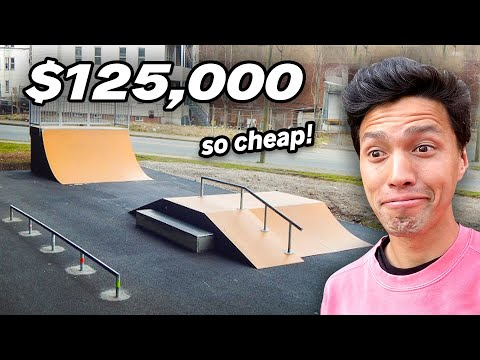 New Jersey Decides to Build a Cheap Skatepark...