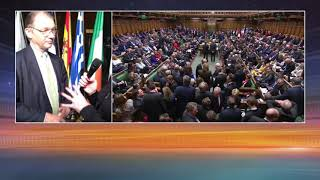 EU reaction to UK rejecting No-deal Brexit
