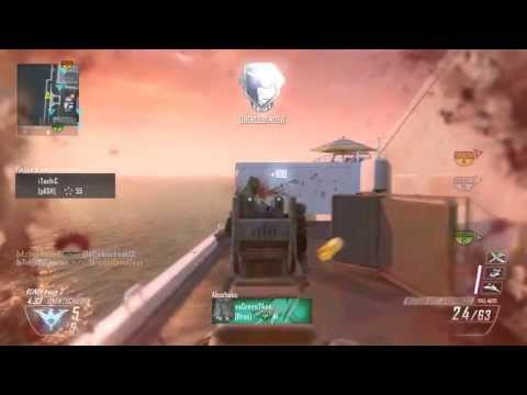 Black Ops 2 | 45+ Vector auf Hijacked | XBOX ONE | Gameplay / Commentary / PS3 | 96Disaster
