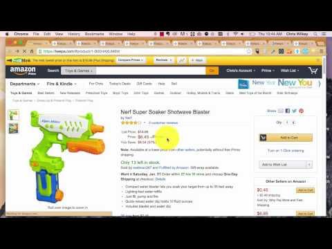 Online Selling: Using Keepa Charts 101